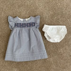 Janie and Jack Baby Girl Dress 3-6 months